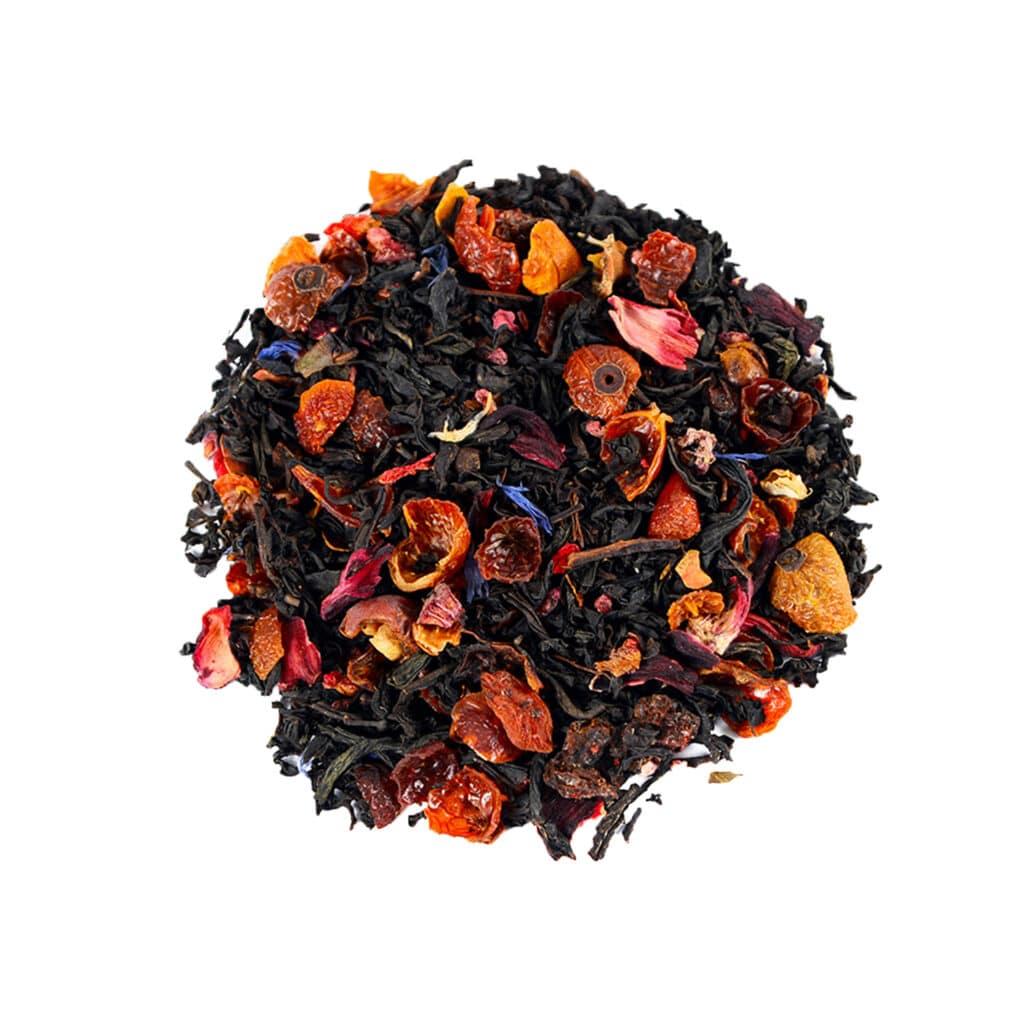 چای سیاه انار و رسپبری (Pomegranate Raspberry)