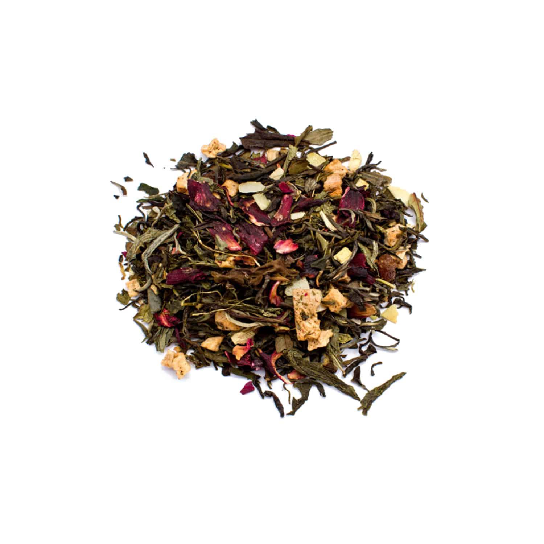 چای سفید آناناس کاراملی (Cremant Sorbet)